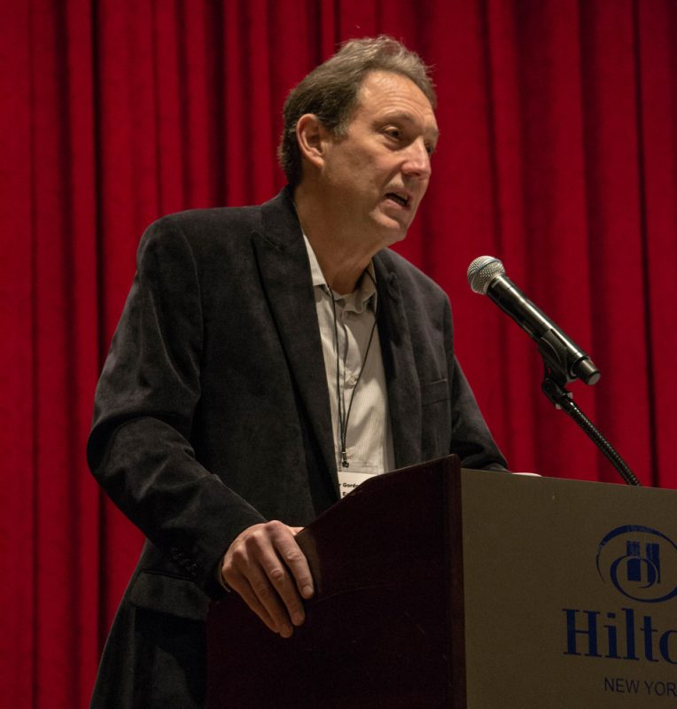 Peter Gordon of Thirsty Ear Recordings, Jazz Connect Conference, NYC, 1-13