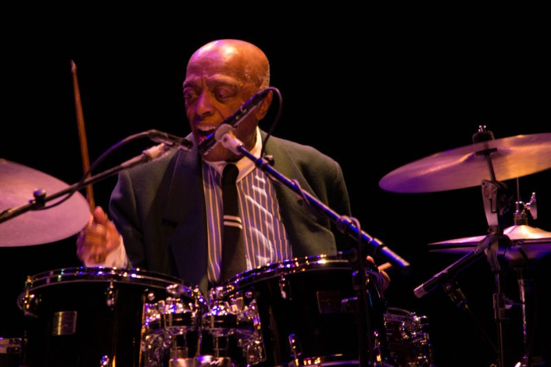 Roy Haynes, Jazz for Obama concert, NYC, 10-12