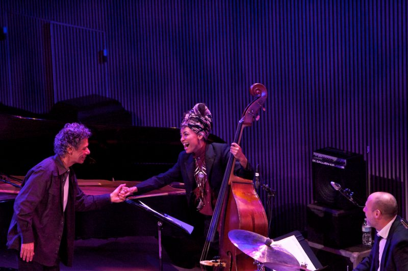 Chick Corea with Esperanza Spalding and Jeff Ballard, SFJAZZ Center, San Francisco, 1-13