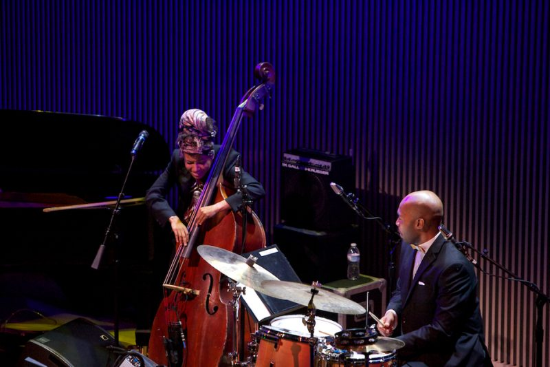 Esperanza Spalding and Eric Harland, SFJAZZ Center, San Francisco, 1-13