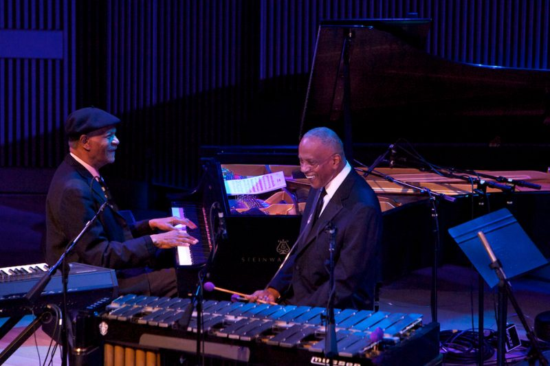 McCoy Tyner and Bobby Hutcherson, SFJAZZ Center, San Francisco, 1-13