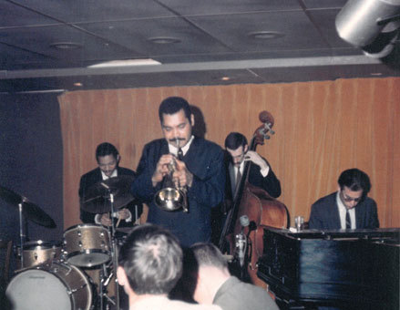 Steve Kuhn with Art Farmer, Steve Swallow and Pete la Roca, 1964