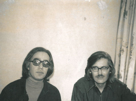 Steve Kuhn with Bill Evans, 1971