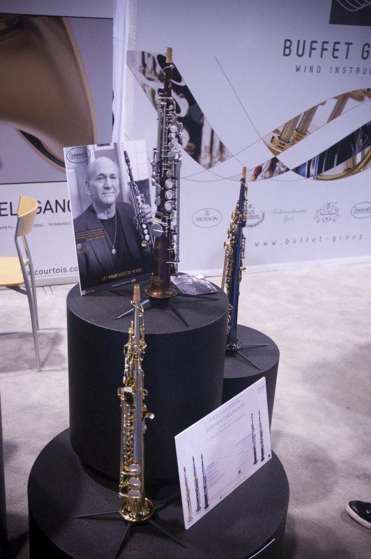 Dave Liebman's signature soprano saxes by Keilwerth, Winter NAMM 2013