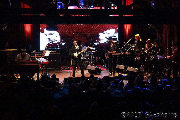 Shuggie Otis and band, Highline Ballroom, NYC 1-10-13