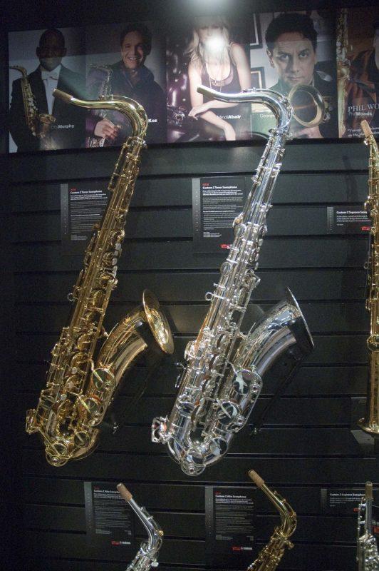 Yamaha's redesigned Custom Z tenor saxophones, Winter NAMM 2013