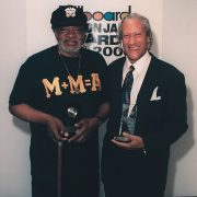 Donald Byrd and Gary Bartz backstage at the Billboard BET on Jazz Awards Show in 2000 image 0