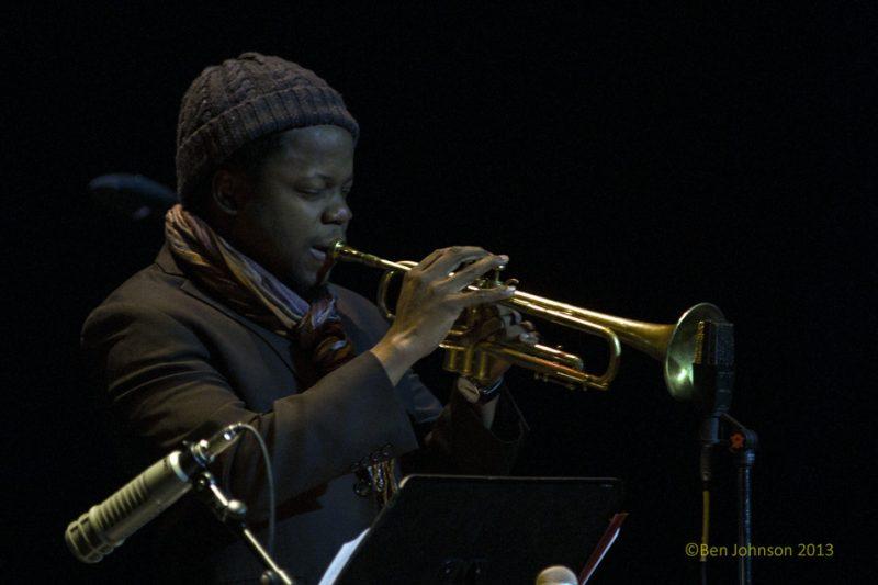 Ambrose Akinmusire, Monterey Jazz Festival 55th Anniversary Tour, Philadelphia, 2-13