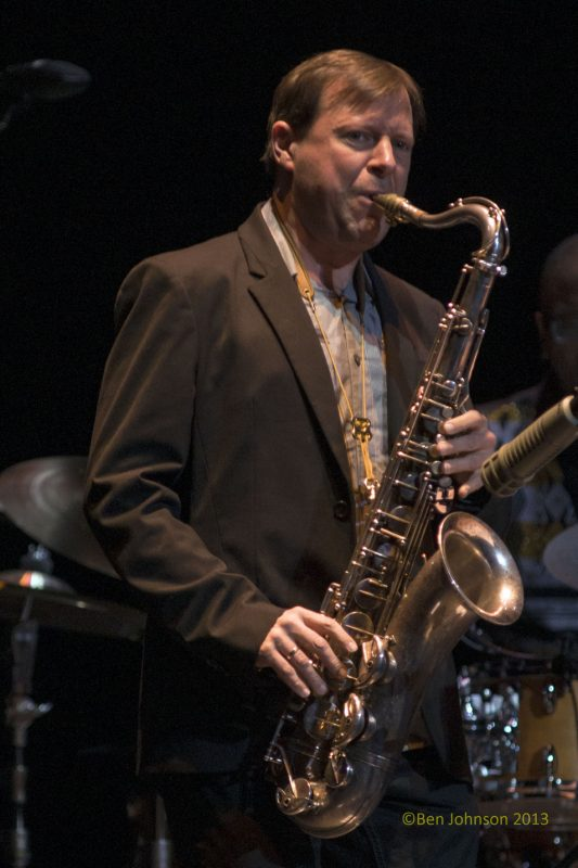 Chris Potter, Monterey Jazz Festival 55th Anniversary Tour, Philadelphia, 2-13