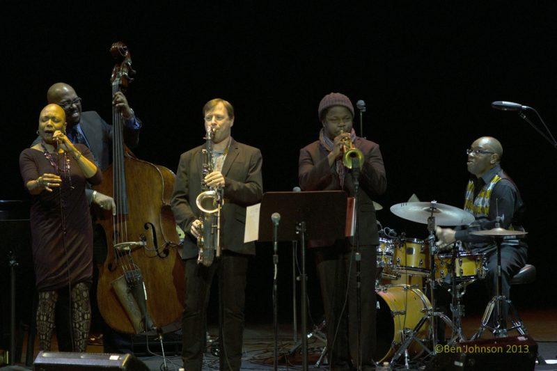 Monterey Jazz Festival 55th Anniversary Tour Band, Monterey Jazz Festival 55th Anniversary Tour, Philadelphia, 2-13