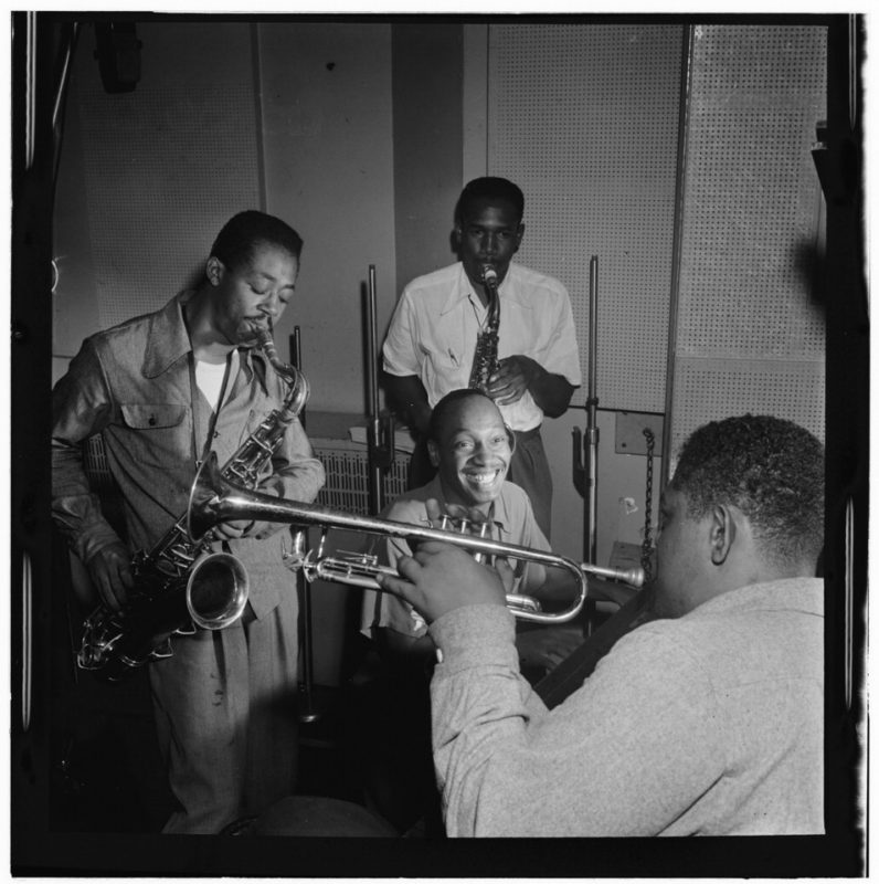Charlie Rouse, Ernie Henry, Tadd Dameron, Fats Navarro