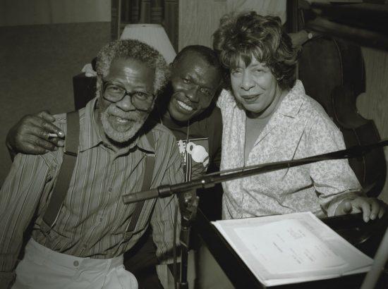 Elvin Jones with Joe Henderson and Shirley Horn, 1995 image 0
