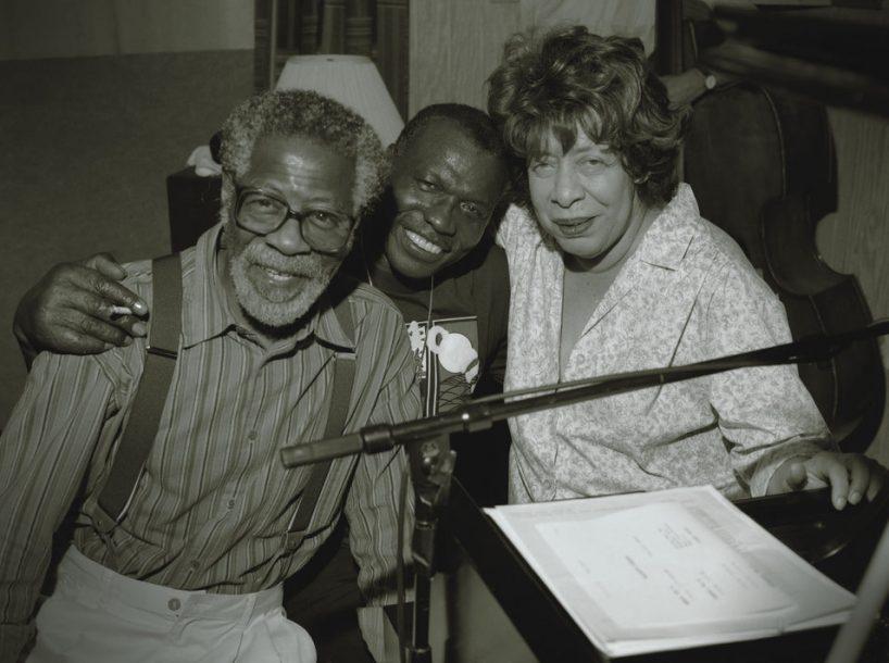 Elvin Jones with Joe Henderson and Shirley Horn, 1995 (photo: Jimmy Katz)