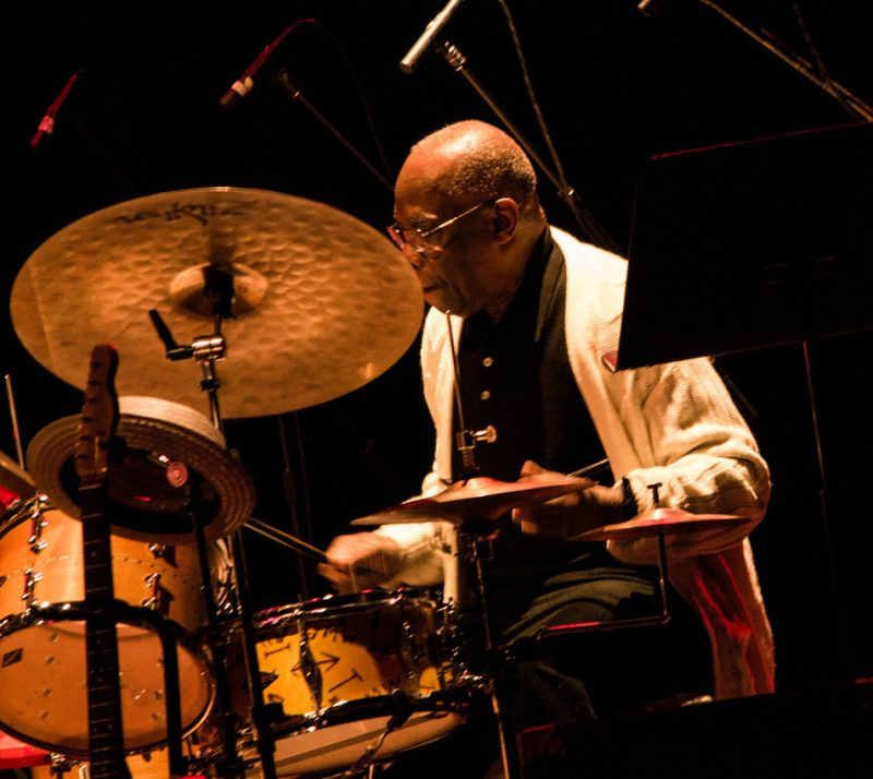 Andrew Cyrille, Paul Motian tribute concert, NYC, 3-13