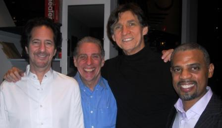 Michael Wolff, Mike Clark, Russ Davis and Steve Wilson at Dizzy's Club Coca Cola in February 2013