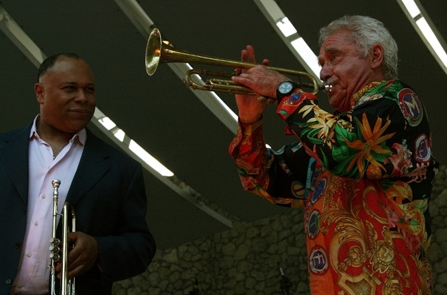 Byron Stripling and Doc Severinsen, Florida 3-13
