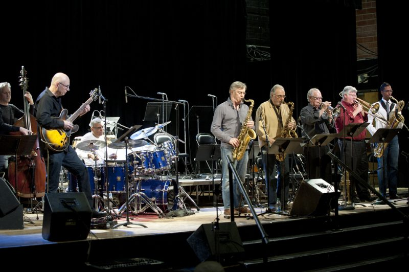 Concert with Jack DeJohnette and teachers from Humber College in March 2013