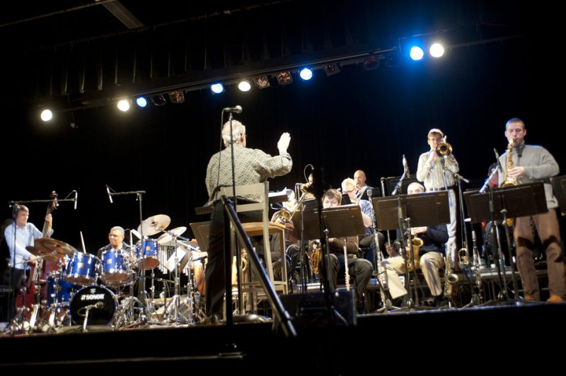 Humber Studio Jazz Ensemble directed by Denny Christianson