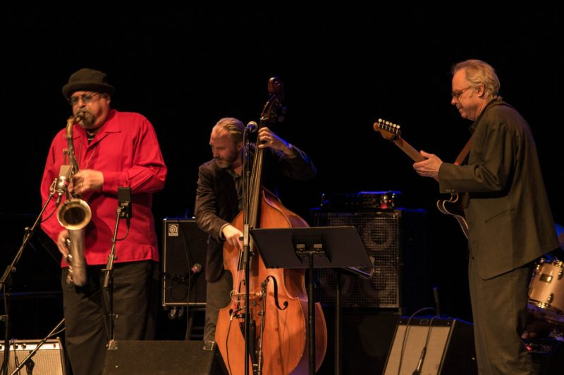 Joe Lovano, Reid Anderson, Bill Frisell, Paul Motian tribute concert, NYC, 3-13