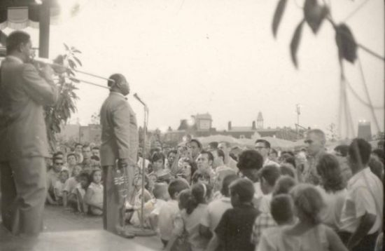 Louis Armstrong, Freedomland, Bronx, NY 1961 image 0