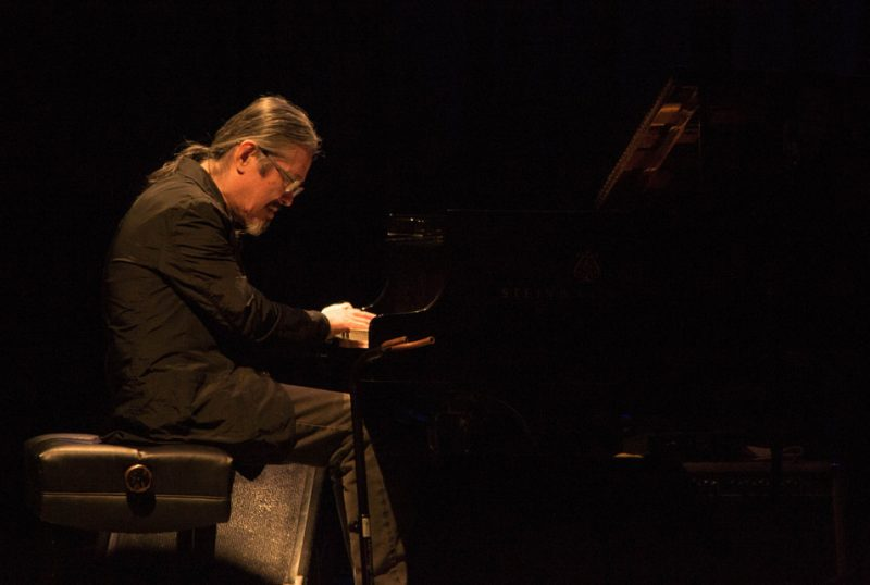 Masabumi Kikuchi, Paul Motian tribute concert, NYC, 3-13.jpg