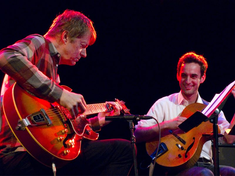 Nels Cline, Julian Lage, Le Poisson Rouge, NYC, 5-25-12