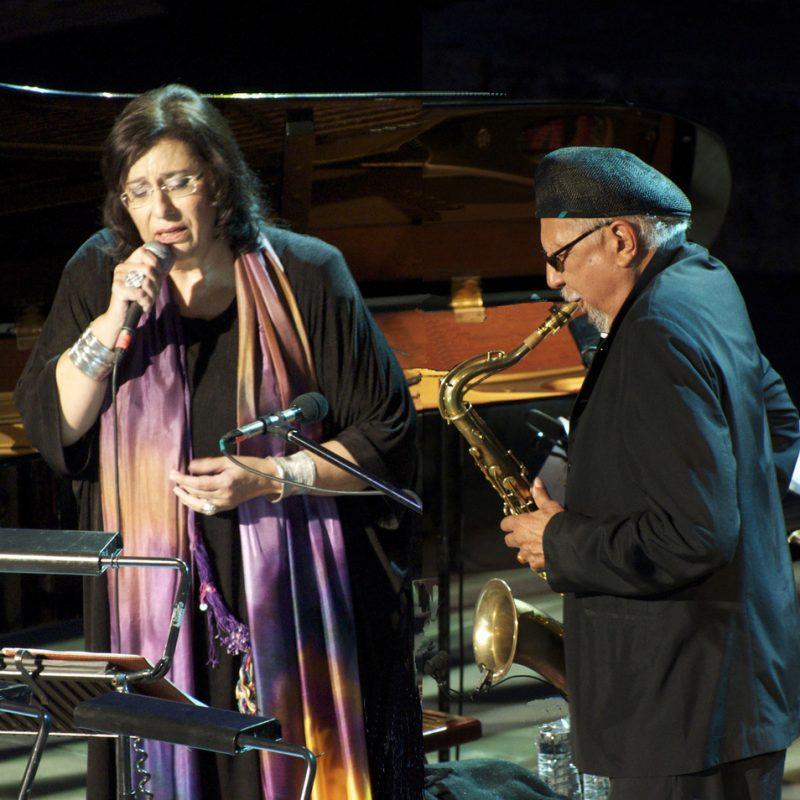 Charles Lloyd and Maria Farantouri