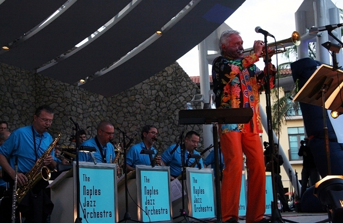 Doc Severinsen and the Naples Jazz Orchestra, Florida, 3-13