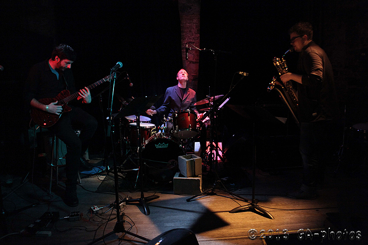 Bobby Previte Bari Trio at Bowery Electric, NYC Winter Jazzfest 2013