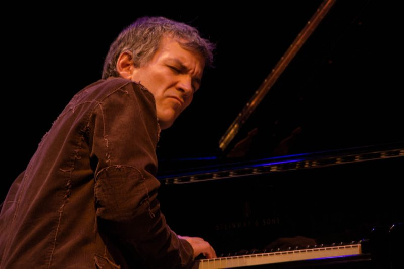 Brad Mehldau, Jazz For Obama concert, NYC, 9-12