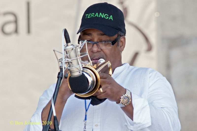 Jon Faddis at CareFusion Newport Jazz Festival