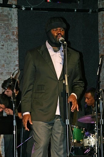 Gregory Porter performing with his group at the 2011 JJA awards ceremony at City Winery in NYC