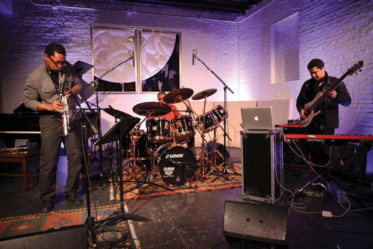 Ravi Coltrane, Jack DeJohnette and Matthew Garrison at ShapeShifter Lab, Feb. 2013
