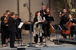 Dawn Upshaw premieres 'Winter Morning Walks' with Maria Schneider pesonnel and members of the Australian Chamber Orchestra, June 2011, courtesy Ojai Music Festival