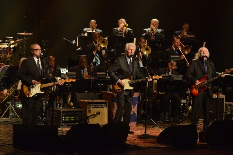 Crosby Stills & Nash, the Jazz at Lincoln Center Orchestra with Wynton Marsalis perform at JALC Gala, May 2013