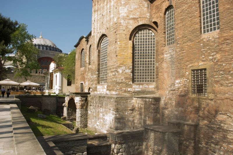 Exterior of Hagia Irene in Istanbul, site of the International Jazz Day concert of 2013