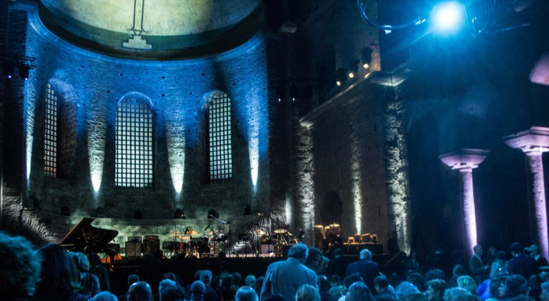 Interior of Hagia Irene in Istanbul, site of the International Jazz Day concert of 2013