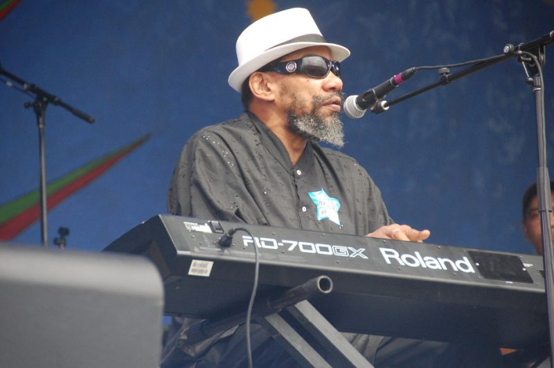 Henry Butler at New Orleans Jazz Fest 2013
