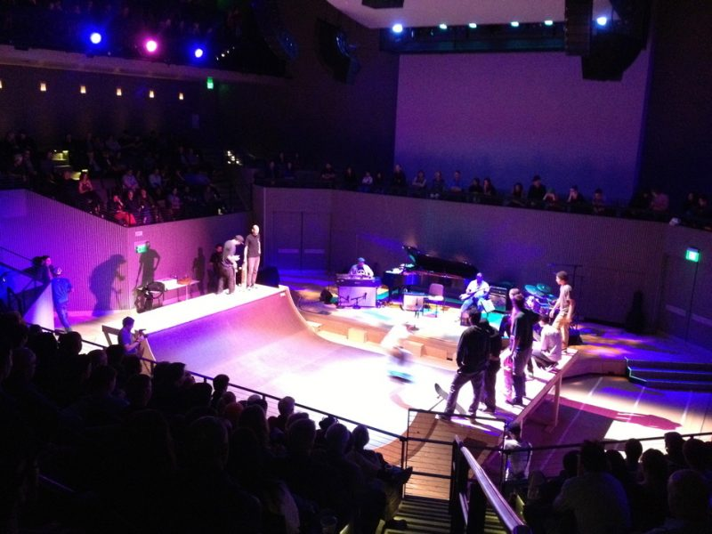Jason Moran's Bandwagon plus live skateboarding, SFJAZZ Center, May 4, 2013