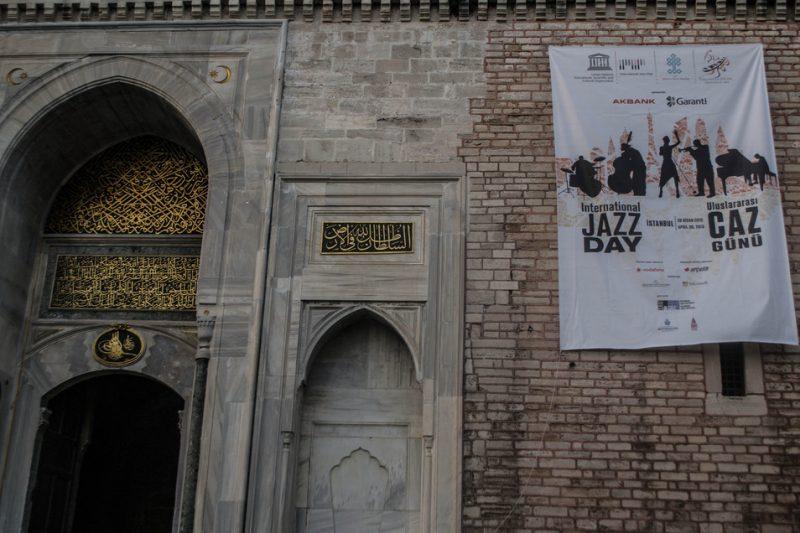Celebrating jazz in Istanbul, April 2013