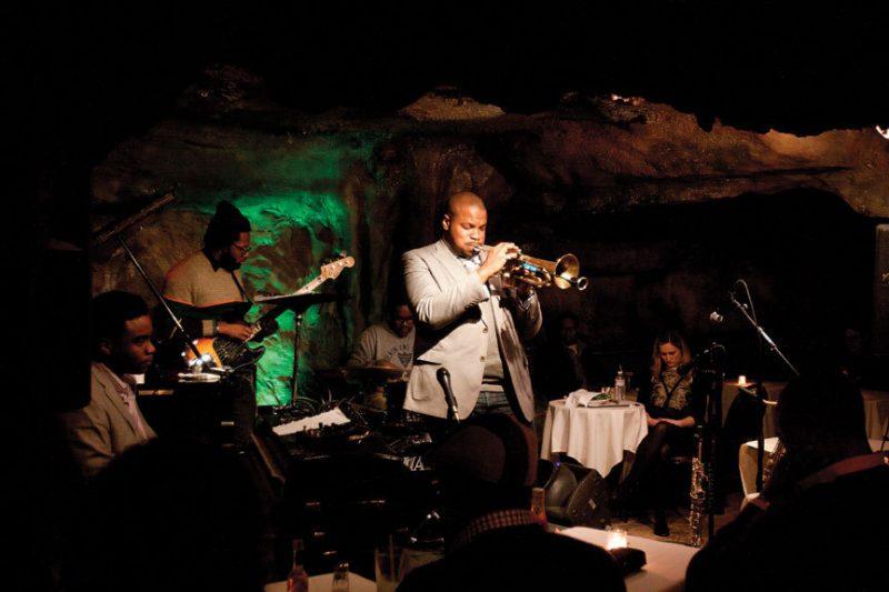 Jeremy Pelt and band at Washington, D.C.'s Bohemian Caverns, Feb. 2013