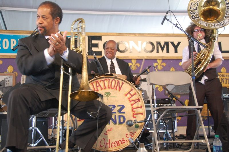 Preservation Hall Jazz Band at New Orleans Jazz Fest 2013