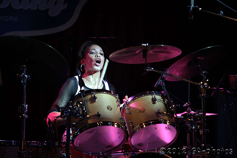Cindy Blackman Santana with Spectrum Road, B.B. King's, NYC, 6-12