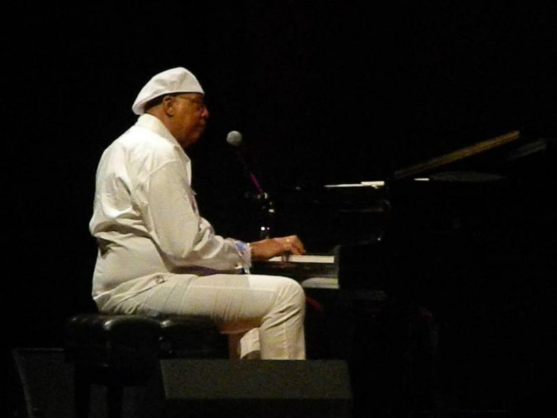 Chucho Valdés in concert at the Centro de Bellas Artes in Puerto Rico on June 22, 2013