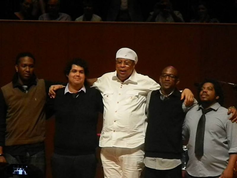 Chucho Valdés and the Afro Cuban Messengers in concert at the Centro de Bellas Artes in Puerto Rico on June 22, 2013