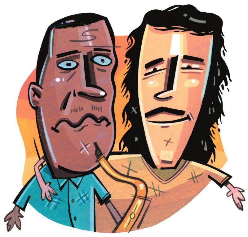 John Coltrane and Yanni