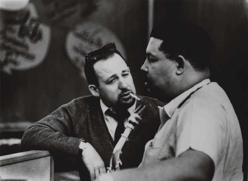 Orrin Keepnews and Cannonball Adderley
