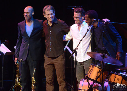 Joshua Redman, Brad Mehldau, Larry Grenadier and Brian Blade, Town Hall, NYC, June 2013