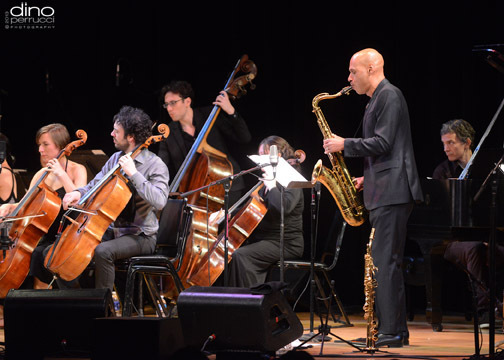 Joshua Redman performs with the Knights, Town Hall, NYC, June 2013