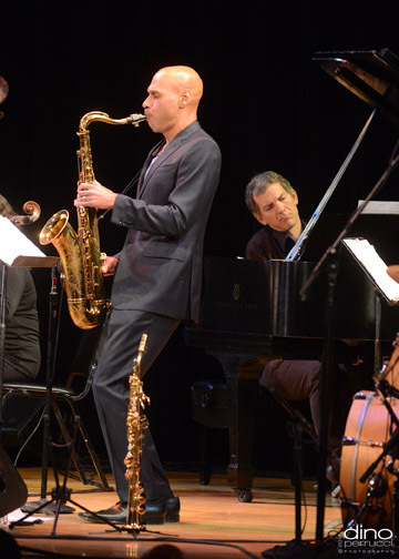 Joshua Redman (with Brad Mehldau on piano), Town Hall, NYC, June 2013